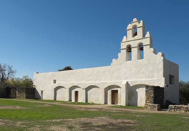 Misión San Juan Capistrano, San Antonio, Texas - Misiones coloniales de la historia española en Estados Unidos