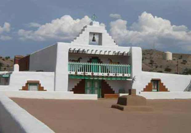 Misión Santo Domingo Kewa Pueble, Nuevo México - Misiones coloniales de la historia española en Estados Unidos