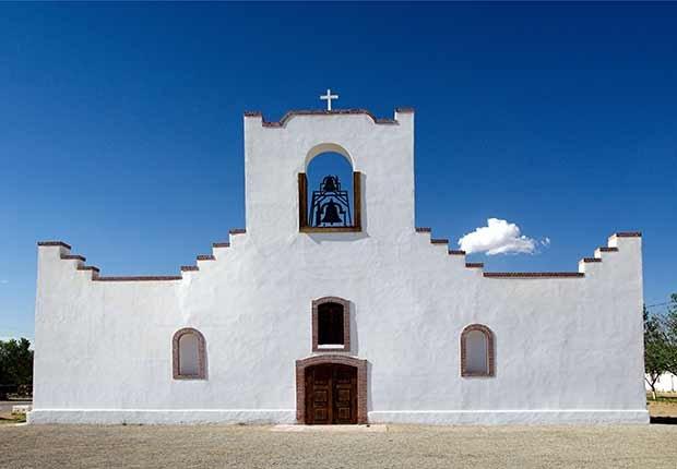 Misión de Nuestra Señora de la Limpia Concepción del Pueblo de Socorro, Texas - Misiones coloniales de la historia española en Estados Unidos
