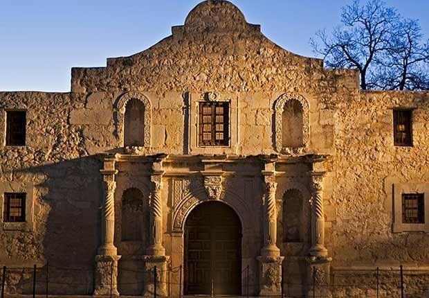 El Álamo, Misión de San Antonio de Valero - San Antonio, Texas - Misiones coloniales de la historia española en Estados Unidos