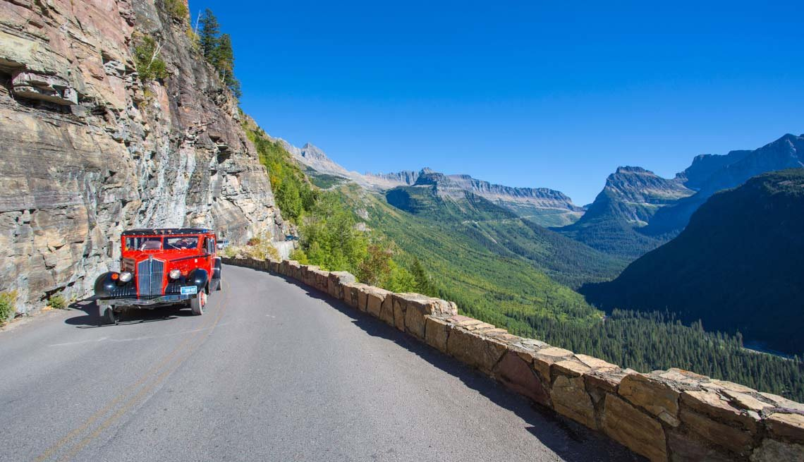 Glacier National Park - Experiencias increíbles en los parques nacionales