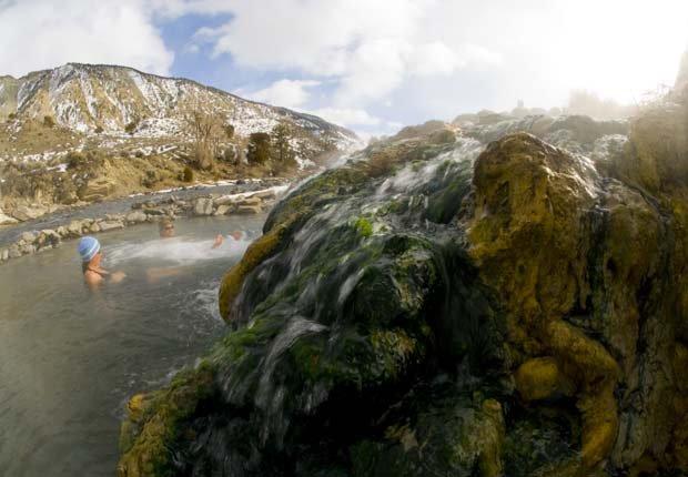 Boiling River en el Parque Nacional de Yellowstone - Experiencias increíbles en los parques nacionales
