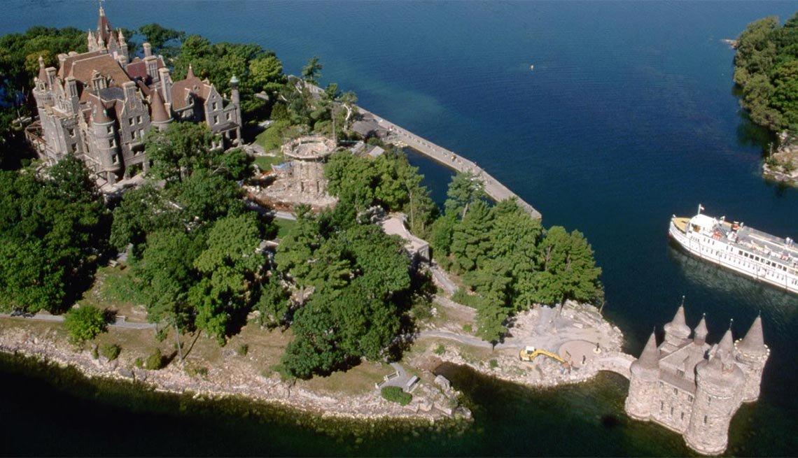 Boldt Castle, Heart Island, Thousand Islands, N.Y.