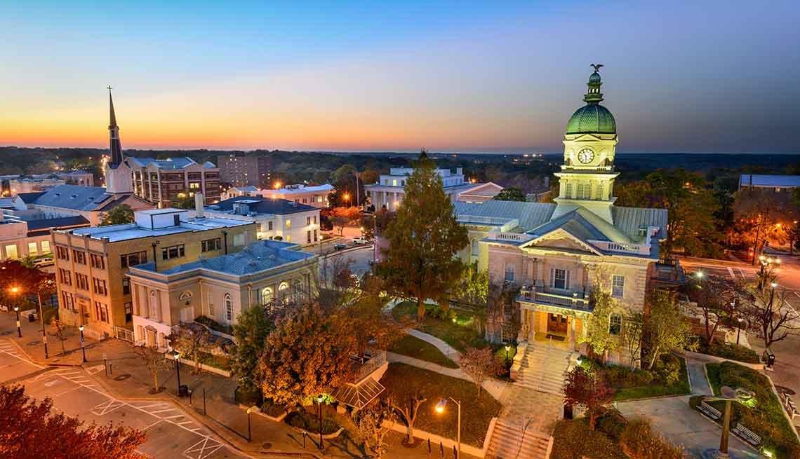 Encantadoras ciudades universitarias
