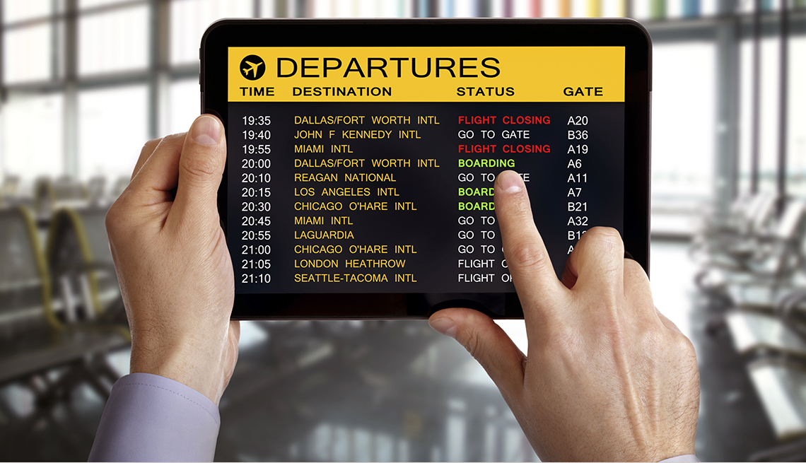Maneras de transitar rápidamente los aeropuertos