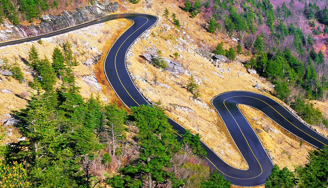 Fabulosos paseos en motocicleta - Grandfather Mountain, Blowing Rock, Carolina del Norte