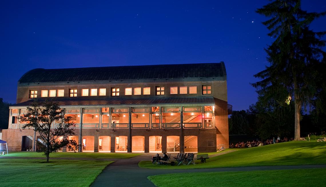 Centro de conciertos Tanglewood en Lenox Massachusetts