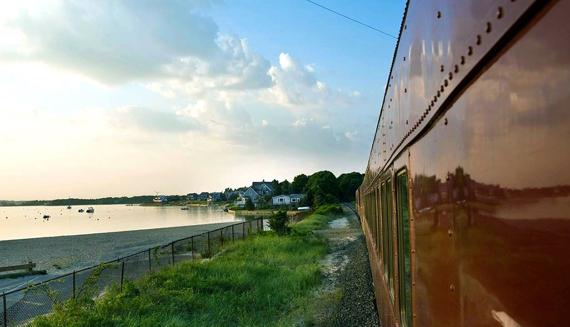 Tren Cape Cod Central Railroad