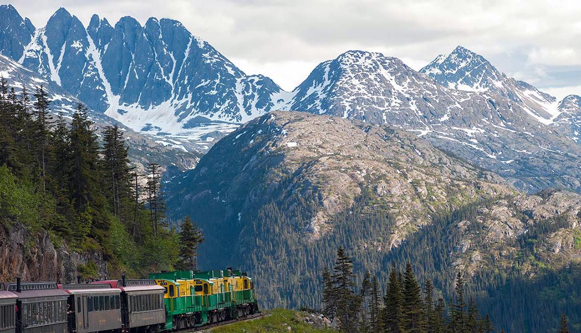 Tren White Pass & Yukon Route Railroad