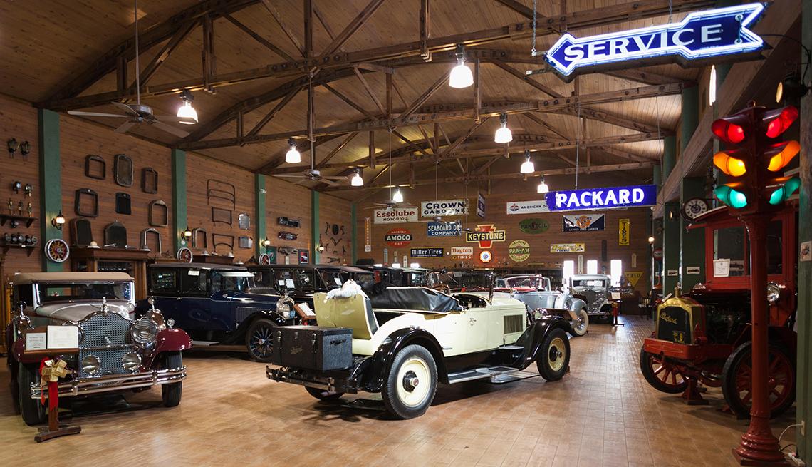 Antique Car MMuseos de autos antiguosuseum