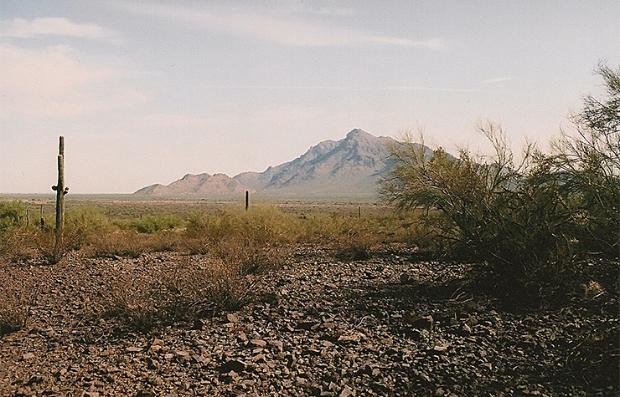 Picacho Pass Peak en Arizona, sitio de la batalla más occidental de la Guerra Civil. — Civil War Trust