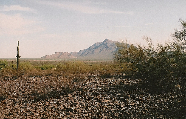 Picacho Pass Peak en Arizona, sitio de la batalla más occidental de la Guerra Civil. — Civil War Trust