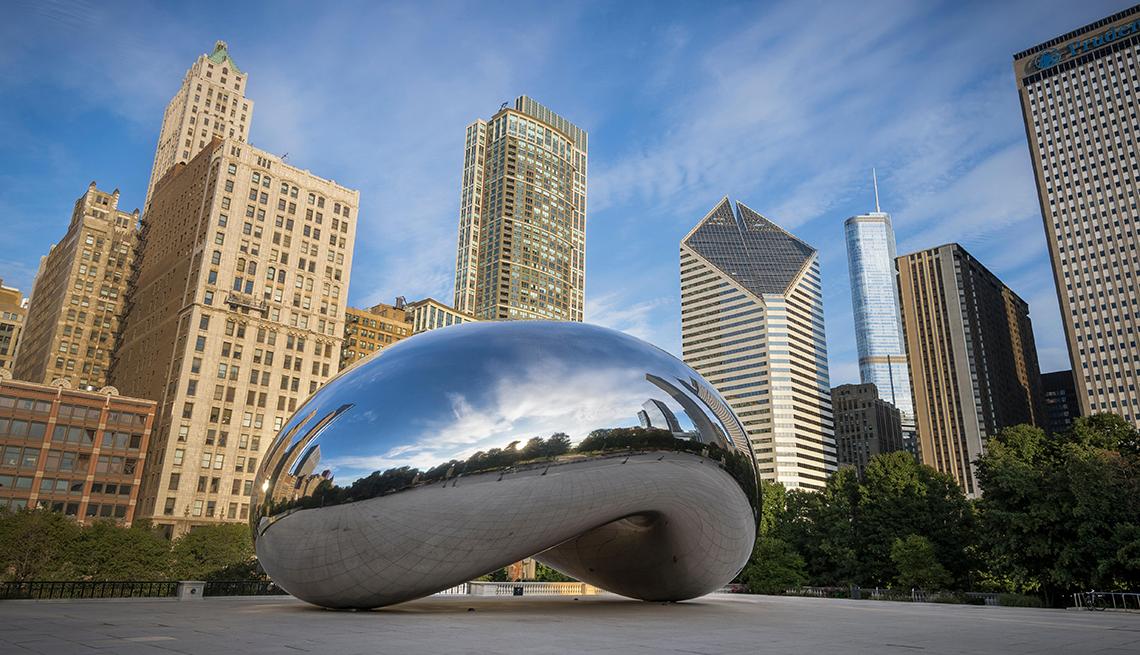 Chicago, Illinois  - Las 10 mejores ciudades para el arte en EE.UU.
