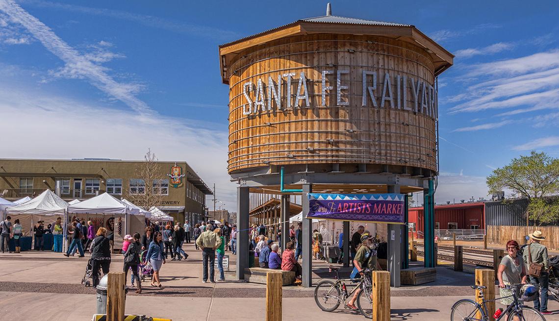 Santa Fe, Nuevo México, Las 10 mejores ciudades para el arte en EE.UU.