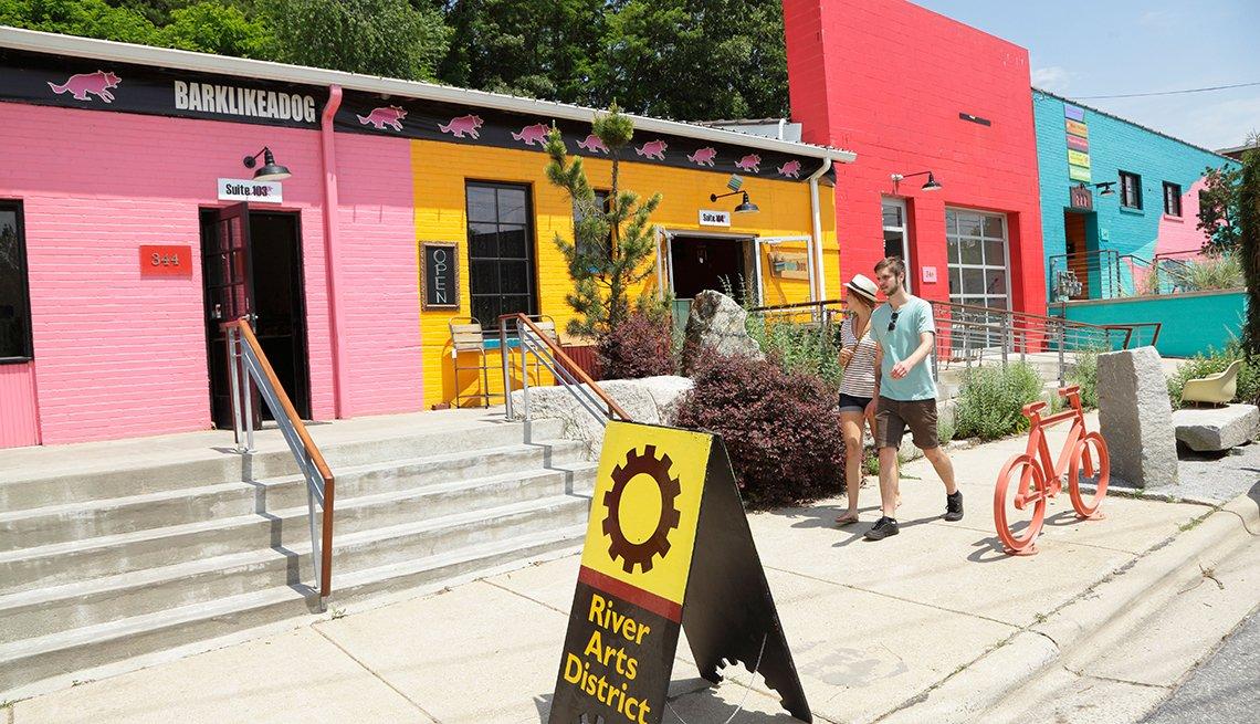 Asheville, Carolina del Norte - Las 10 mejores ciudades para el arte en EE.UU.