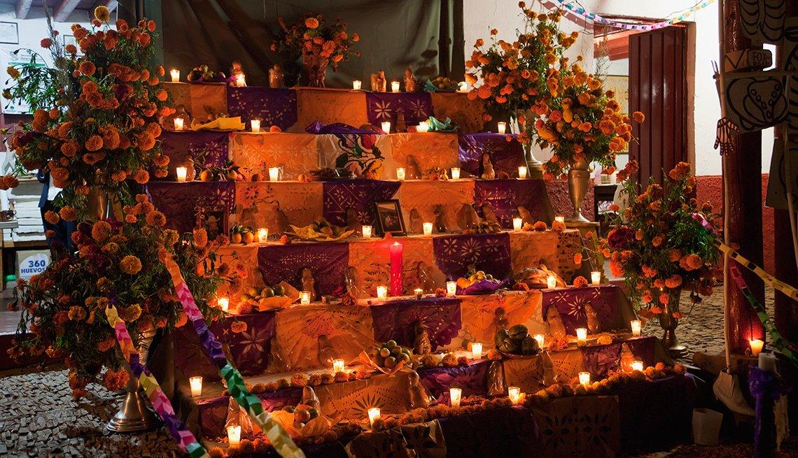 Ciudades en donde conmemoran el Día de los Muertos