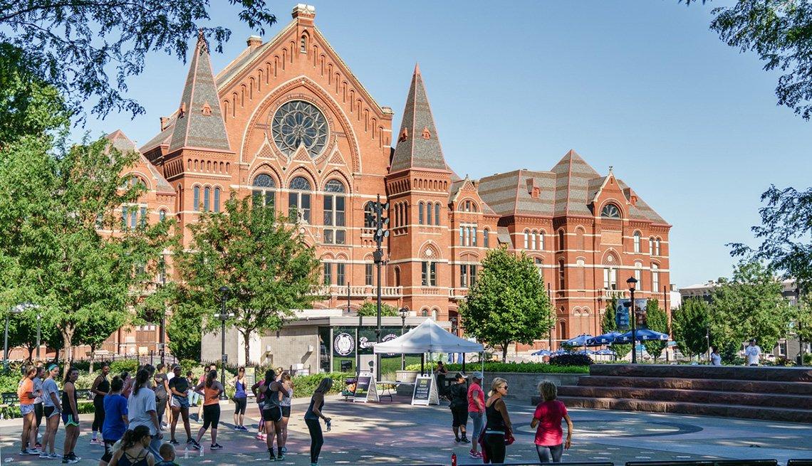 Cincinnati Music Hall - Escapes al centro del país