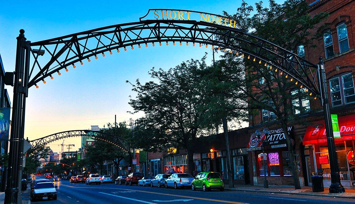 Columbus, Ohio  - Escapes al centro del país