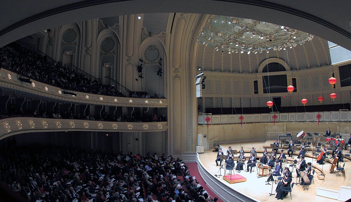 China Radio Nationalities Orchestra Performs at the Symphony Center of Chicago, Chinese Lunar New Year