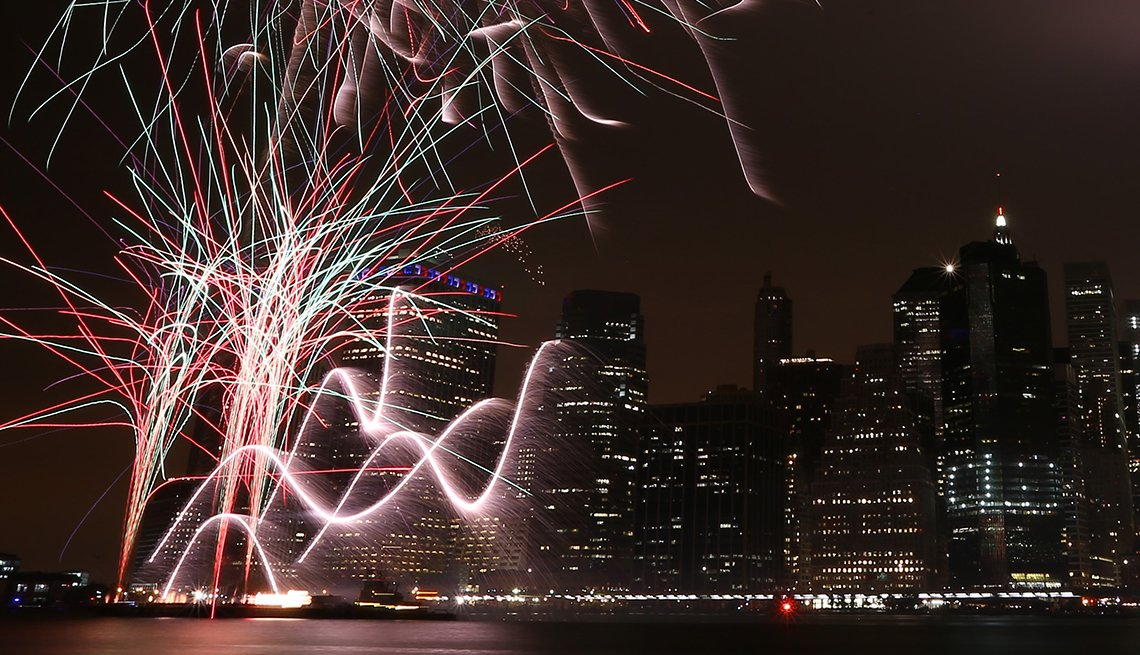item 1 of Gallery image - Fireworks Over the East River, New York, Best Fireworks Displays