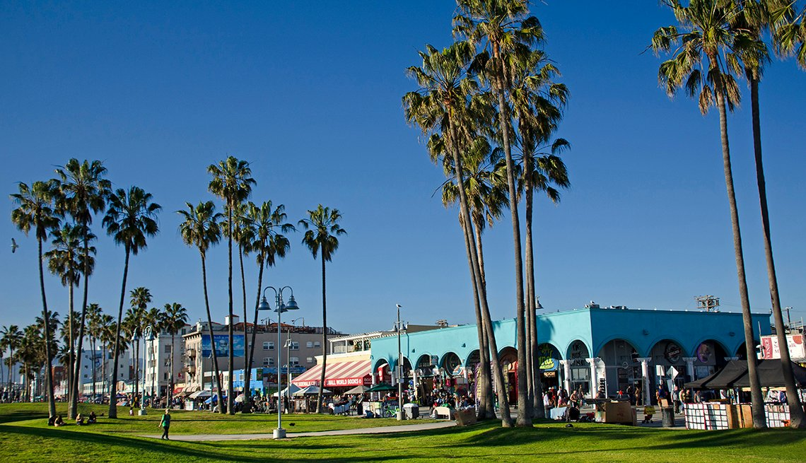 Venice beach, Los Ángeles, California.