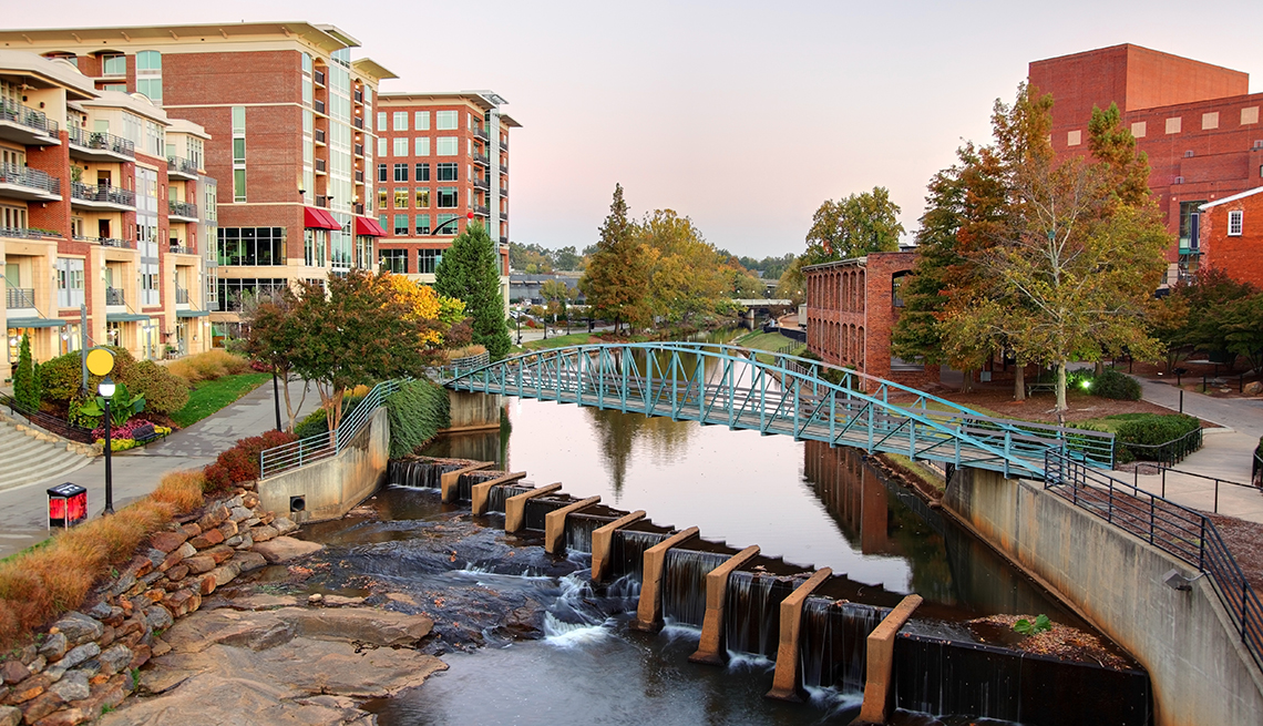 item 2 of Gallery image - Falls Park in downtown Greenville, SC