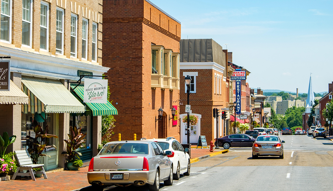 item 9 of Gallery image - cars along main street in Lexington, Virginia