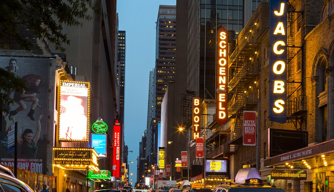 Broadway, Marquees, Midtown, Manhattan, NYC