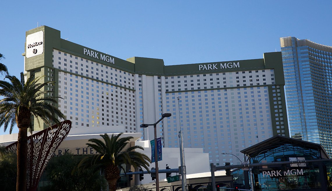 Park MGM Hotel in Las Vegas