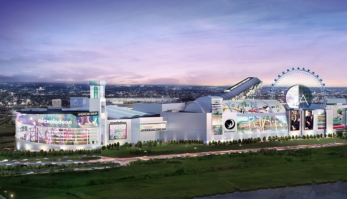 rendition of the American Dream Mall