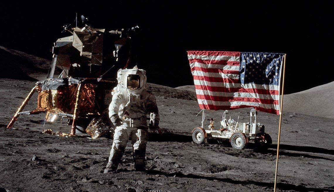 Aterrizaje en la luna del Apolo 11