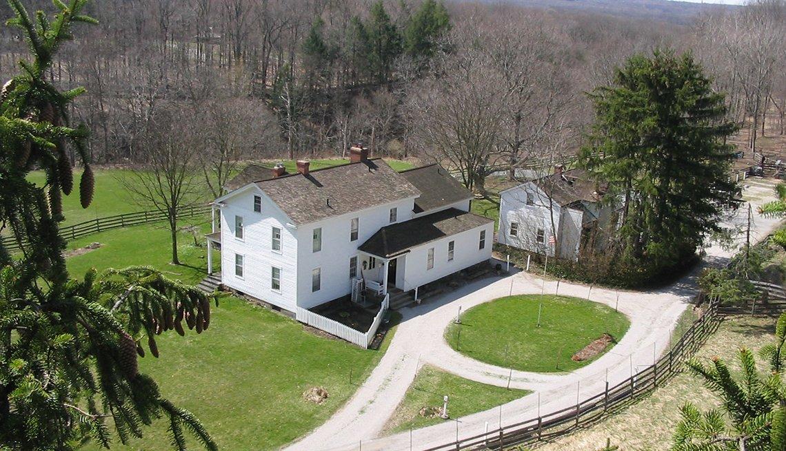 Vista aérea del Brandywine Inn