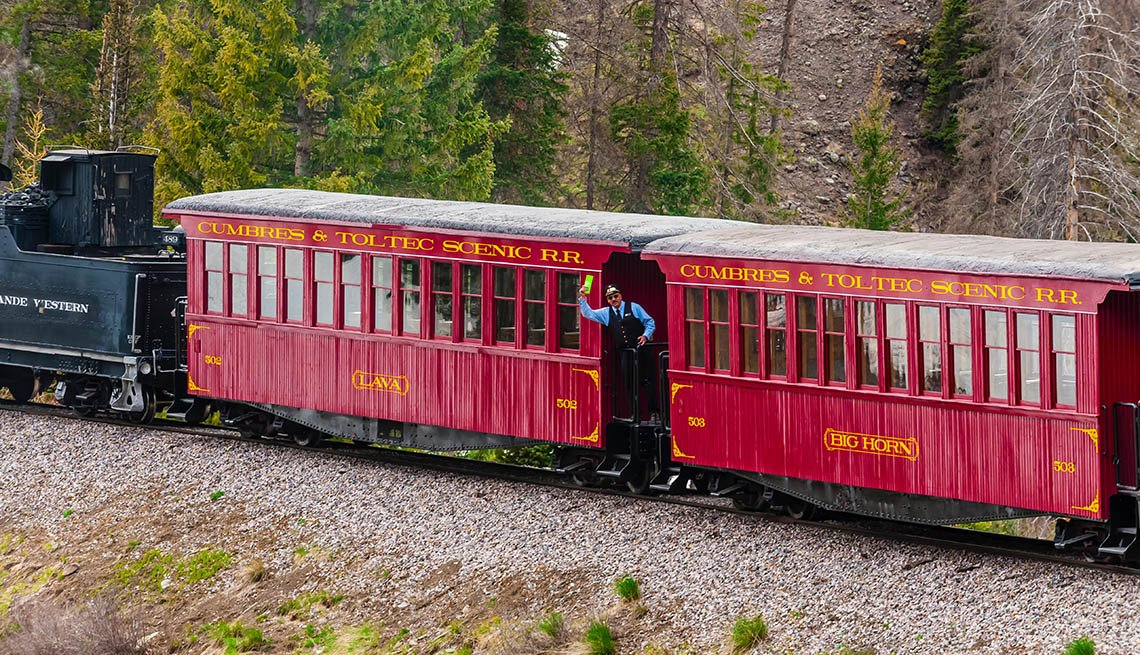 El tren panorámico Cumbres y Tolteca