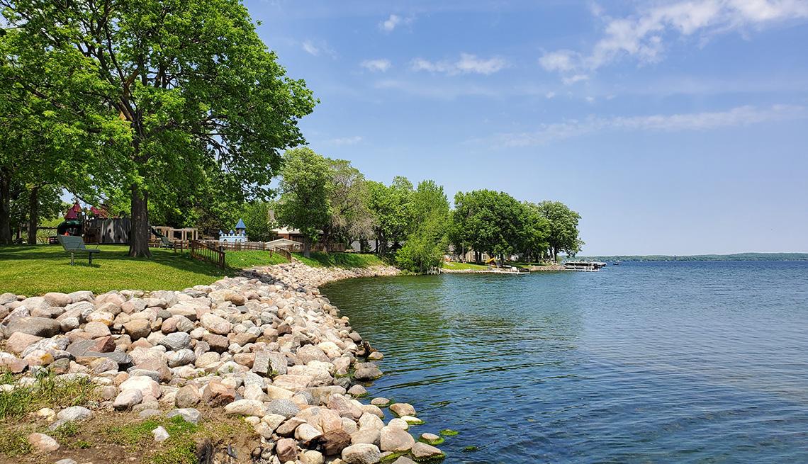 Panorámica del Green Lake