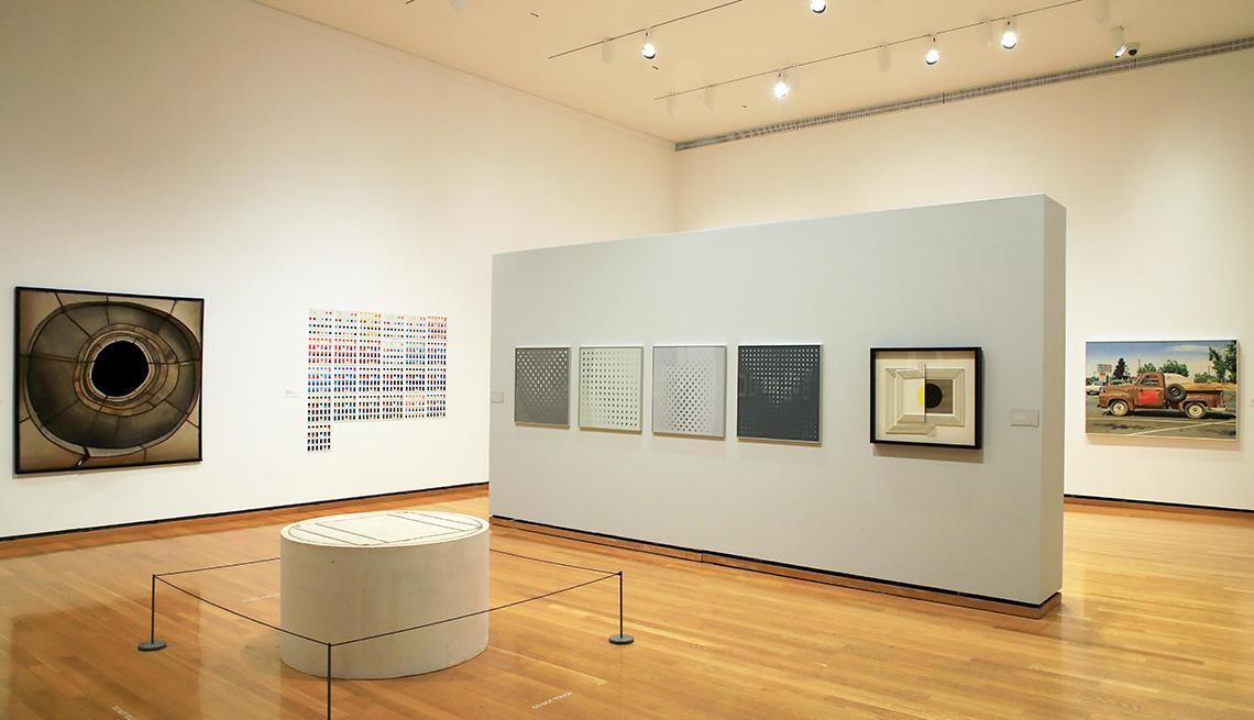 Galería en el Museo de arte Herbert F.Johnson