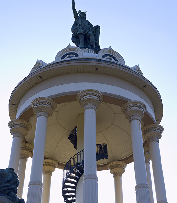 Monumento a Hermann el alemán o Arminius en New Ulm Minnesota