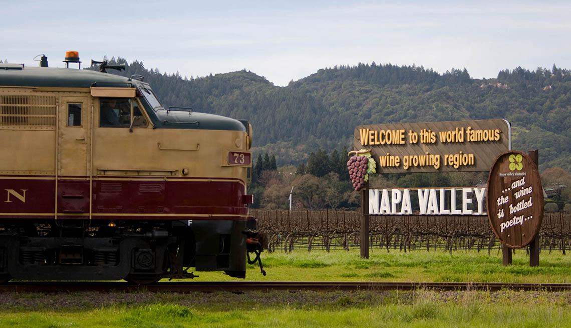 item 8 of Gallery image - Napa Valley Train