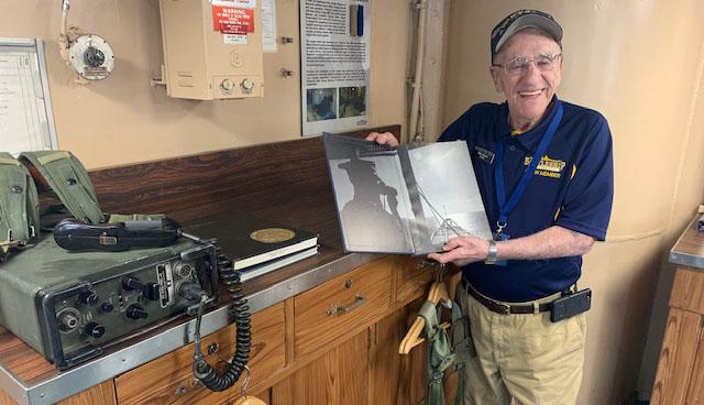 John Quinesso, a former Navy Radioman