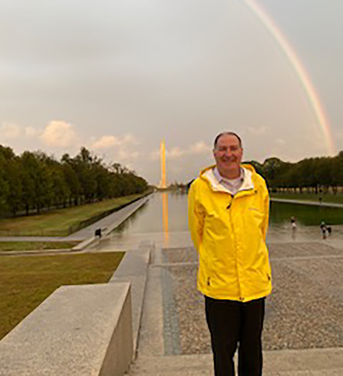 Thomas Schultz of DC Military Tours in Washington, D.C.