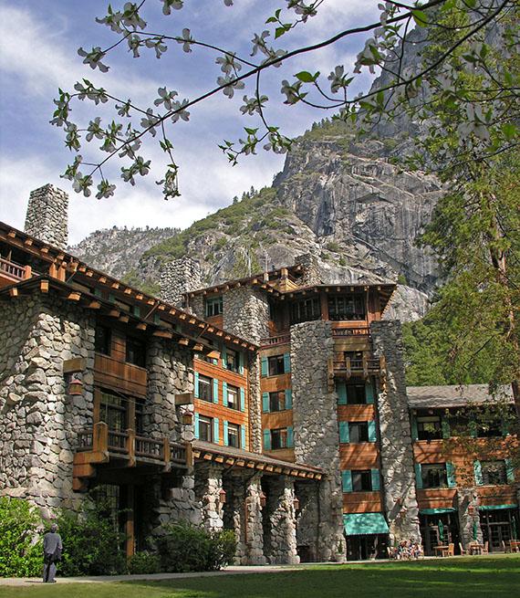 Yosemite Hotel at Yosemite National Park