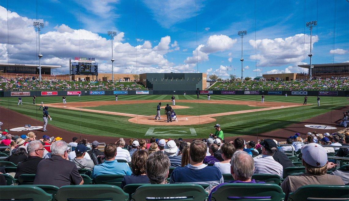 Cactus League spring training baseball, Salt River Fields at Talking Stick, Scottsdale, Arizona