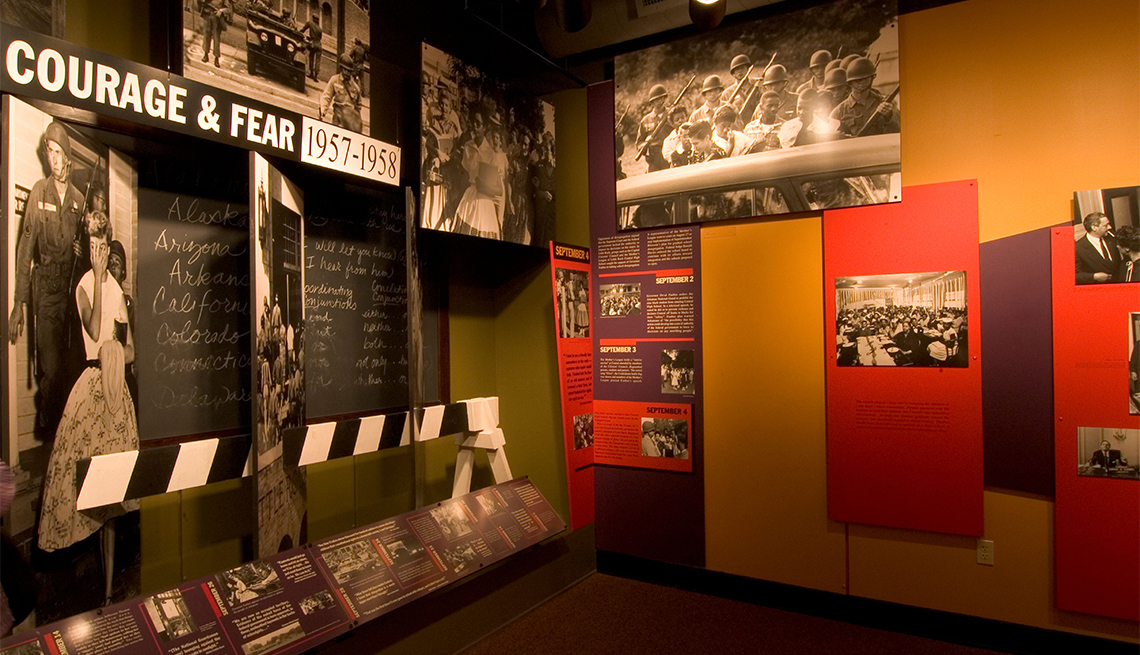 item 8 of Gallery image - Little Rock Central High School National Historic Site Visitor Center