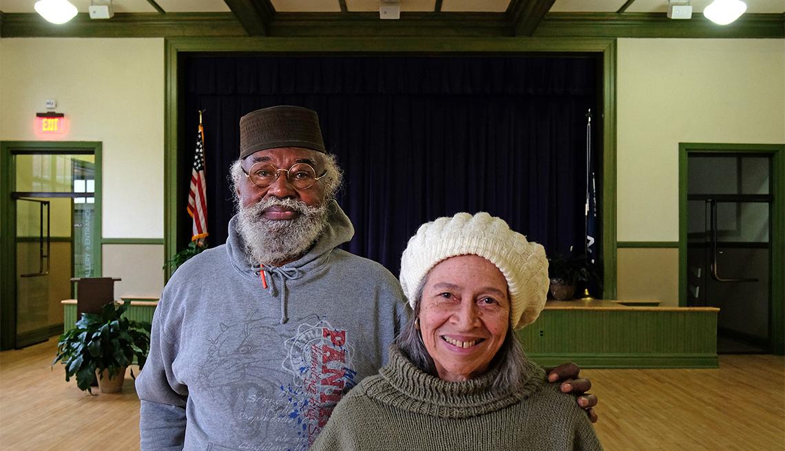 item 5 of Gallery image - El reverendo J. Samuel Williams Jr., de 81 años, y Edwilda Gustava Allen, de 77 años, ambos de Farmville