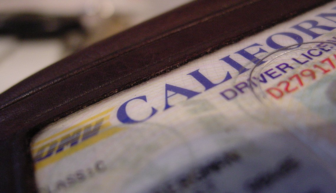 Licencia de conducción de California