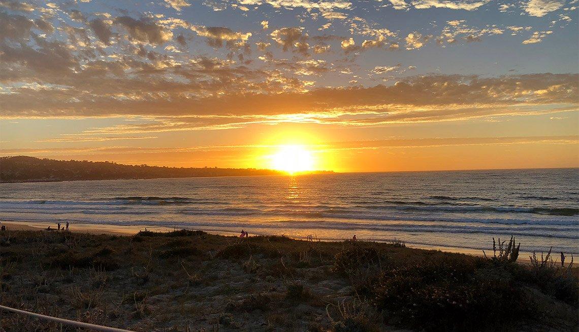 Atardecer en Monte Beach, CA