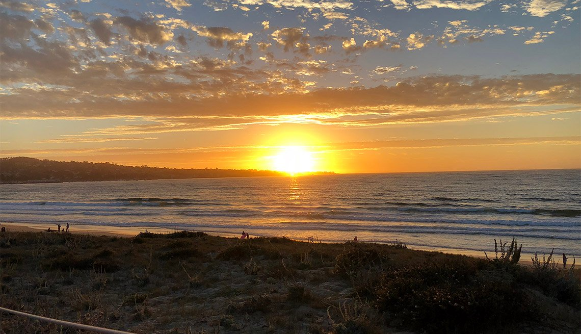 item 2 of Gallery image - sunset along Del Monte Beach, CA