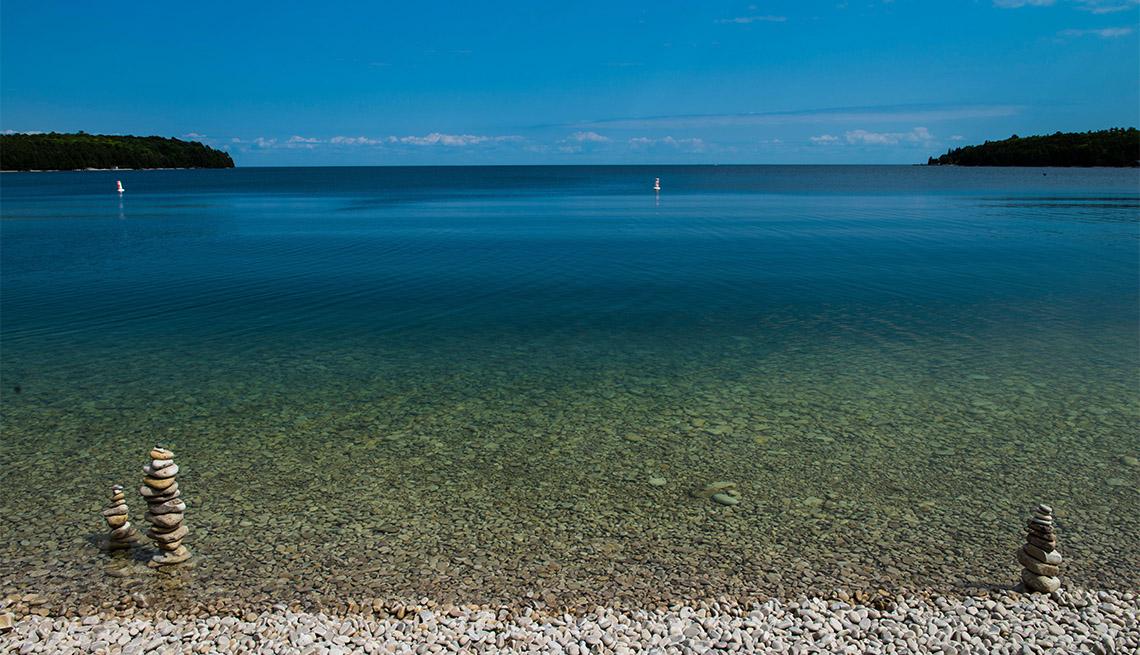 item 6 of Gallery image - Schoolhouse Beach, Washington Island, WI