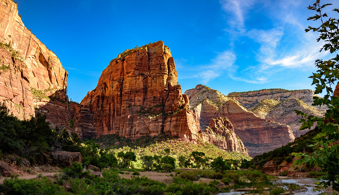 Angles Landing at Zion National Park