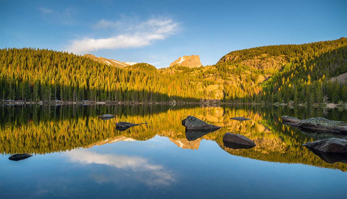 Bear Lake en el Parque Nacional de las Montañas Rocosas