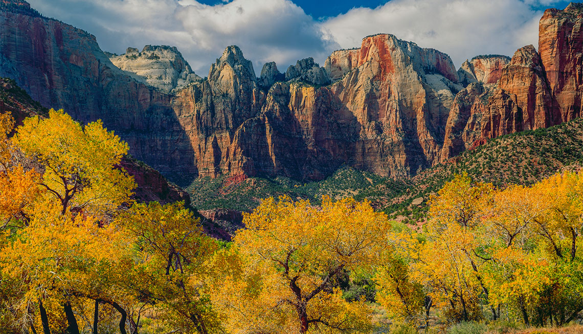 item 3 of Gallery image - Court of the Patriarch, Zion National Park